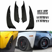 For 2005-2013 Chevrolet Corvette C6 Front And Rear Molded Splash Guards Mud Flap