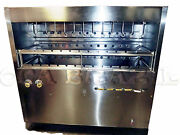 Brazilian Gas Grill For Bbq 38 Skewers - Nsf Approved - Professional Grade