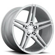 Qty4 19 Niche M170 Turin Brushed Silver Wheels And Tires