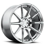 Qty4 20 Staggered Niche M148 Essen Chrome Wheels And Tires