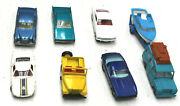 Original 1 Owner 1966 1967 Lesney England Matchbox 8pc Road And Race Mustang Iso++
