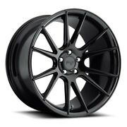 4/set 20 Staggered Niche M152 Vicenza Black Wheels And Tires