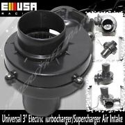 Universal 3 Electric Turbocharger Air Intake For Car/motorcycler/truck/atv/rv