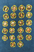 Last Set5 Binionand039s Horseshoe Hall Of Fame Set 521-22 Chips All New In Case