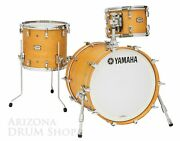 Yamaha Absolute Hybrid Maple 3pc. Jazz Bop Shell Pack Vintage Natural 12/14/18