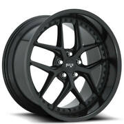 4/set 20 Staggered Niche M226 Vice Matte Black Wheels And Tires