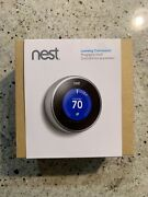Nest 2nd Generation Learning Thermostat - Silver T200577