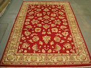 Rare Chobi Zeigler Mahal Vegetable Dyed Area Rugs Hand Knotted Carpet 8 X 5.7and039