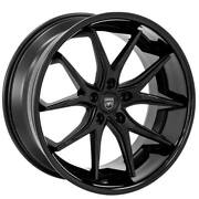 4new 20 Staggered Wheels And Tires Lexani R-twelve Satin Black Center