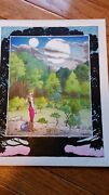 Charles Vess Original Painting. Signed. Early Piece Dated 1979
