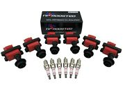 6 Pack Ignition Coils For 84-88 R31 Skyline Cefiro Laurel Fairlady + Spark Plugs