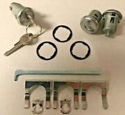 New 1964-1966 And 1968 Chevelle And Malibu Door And Trunk Lock Set- Original Gm Keys