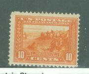 Us-400a 10c San Francisco Bay M-h Issued 1913