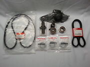 Genuine Timing Belt Andwater Pump W/complete Kit For Honda/acura V6