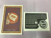 2 Alpen Brau Print Ads The Independent Breweries Co And Columbia Brewing Co