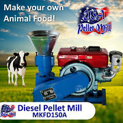 Diesel Pellet Mill For Cowand039s Food - Mkfd150a - Usa