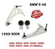 Bmw E46 325 330 Front Suspension Left And Right Lower Control Arm With Bushing Set