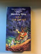 Journey To The West Legends Of The Monkey King Vhs Tape 2001