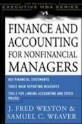 Finance And Accounting For Nonfinancial Managers By Samuel Weaver J. Fred W...