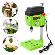 Mini Work Bench Electric Drill Press Stand Small Power Drilling Tool 110v 480w
