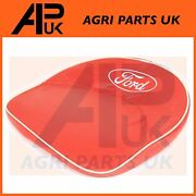 Ford 2n 8n 9n N Series Tractor Padded Seat Pan Cushion Pillow Cover Red And Logo