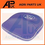 Ford 2n 8n 9n N Series Tractor Padded Seat Pan Cushion Pillow Cover Blue And Logo