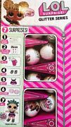 Lol Surprise Doll Glitter Series 2 25 Balls With Display Box