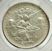 1937 S Texas Independence Commemorative Silver Half Dollar Coin Pcgs Ms I76467