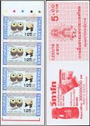 Thai Musical Instruments Ii -stamp Booklet Mhi- Mnh