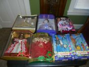 Pocahontas Doll And John Smith Sun Colors Plus Some Other Barbie's