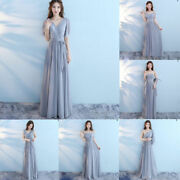 Long Formal Prom Party Dress Evening Bridesmaid Dresses Ball Gown Cocktail Dress