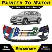 New Painted To Match Front Bumper Cover Fascia For 2017-2020 Nissan Rogue
