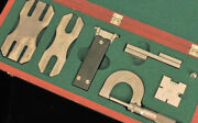 Western Electric Telephone Company New York Chicago Micrometer Tool Set Rare