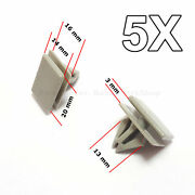 5x Rocker Panel Moulding Clips Retainer For Gm