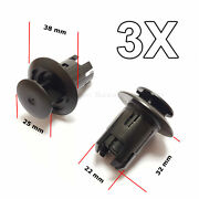3x Rocker Moulding Retainers For Toyota