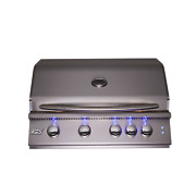 Rcs Gas Grills 32 Premier Grill With Blue Led And Rear Burner - Ng Rjc32al