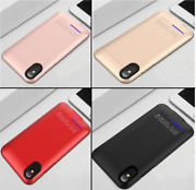 Battery Charger Case For Iphone X Xs External Backup Power Bank Slim 4000mah