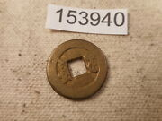 Very Old Chinese Dynasty Cash Coin Raw Unslabbed Album Collector Coin - 153940