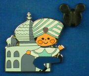 Itand039s A Small World Ride Boy And Building India 2014 Starter Set Disney Pin 108577