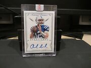 National Treasures Blue Signatures Autograph Colts Andrew Luck 1/1 2015