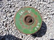 John Deere 110 Jd Tractor Pto Double Drive Drives Main Belt Pulley To Mower Deck