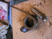 John Deere 40 Tricycle Tractor Jd Main Rockshaft Roll Pin And Linkage For Parts