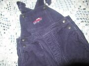 Euc Janie And Jack Navy Cord Race Car Cord Overalls Baby Boy 18 M 24 M Free Ship