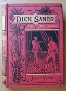 Dick Sands The Boy Captain By Jules Verne - Sampson 1st British Edition - 1878
