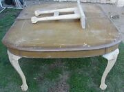 Large Antique American Chippendale Mahogany Dining Room Table L@@k Awesome