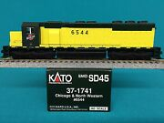 Kato Engine Chicago And North Western Sd45 Ho Scale C And Nw Locomotive 37-1741