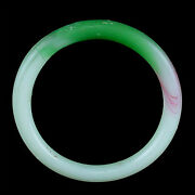 A Qing Dynasty Green And White Glass Bracelet. Made To Imitate Jadeite. X9113