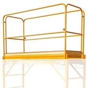 New Multi Function Guardrail Andbull Scaffolding Accessories Andbull Used W/rolling Scaffold