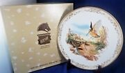 Boehm Game Birds Of North America Collector Plate 10 5/8 American Woodcock