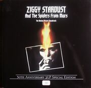 David Bowie Ziggy Stardust Motion Picture Soundtrack 30th Ann. Red Vinyl 3355